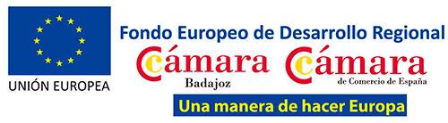 Unión Europea, Fondo Europeo de Desarrollo Regional - Cámara Badajoz, Cámara de Comercio de España - Una manera de hacer Europa